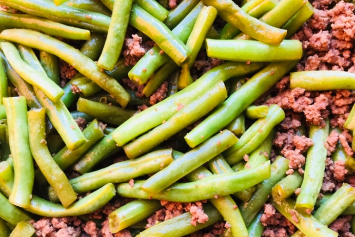 mango and paper recipe beef and green beans saute